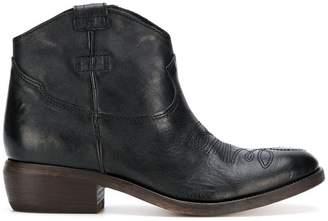 P.A.R.O.S.H. low heel cowboy boots