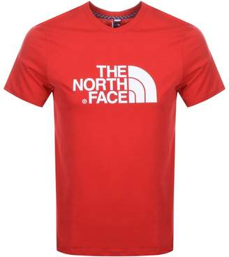 The North Face Easy T Shirt Red