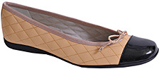 French Sole PassportR - Ballet Flat in Camel