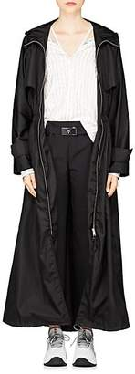 Prada Women's Tech-Twill Long Anorak - Black