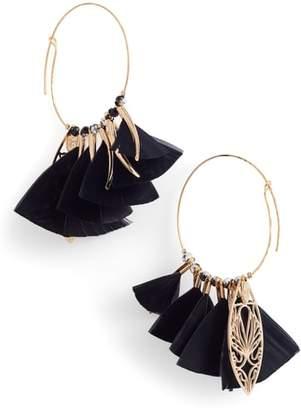 Gas Bijoux Marly Feather Drop Earrings