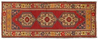 One Kings Lane Vintage Turkish Oushak Runner 3'6 x 9'1