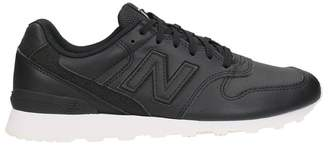 New Balance 996 Black Leather Sneakers