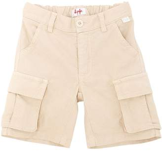 Il Gufo Stretch Cotton Oxford Cargo Shorts