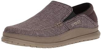 Crocs Men's Santa Cruz Playa Slip-On Loafer Flat