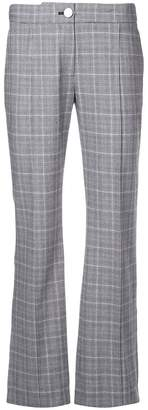 Tanya Taylor tailored check trousers