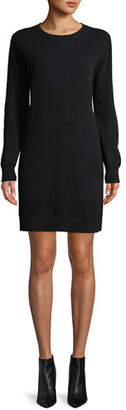 Neiman Marcus Cashmere Sweatshirt Dress