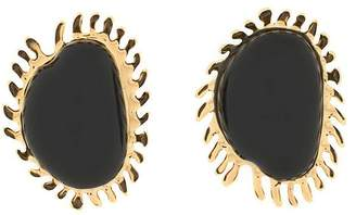 Marni oversized embellished earrings