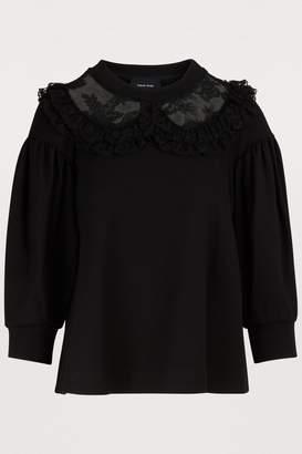 Simone Rocha Lace collar top