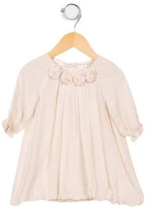Marie Chantal Girls' Long Sleeve Blouse
