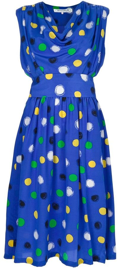 Givenchy Vintage Polka dot dress