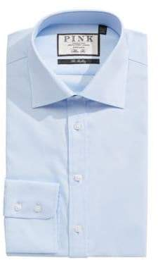 Thomas Pink Weston Pin Point Slim Fit Dress Shirt