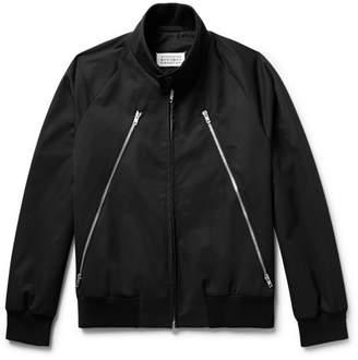 Maison Margiela Zip-detailed Twill Blouson Jacket