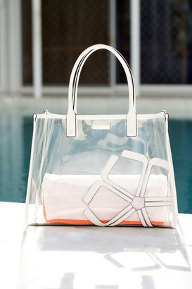 Trina Turk LARGE CLEAR TOTE