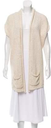 Calypso Sleeveless Knit Cardigan