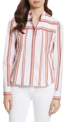 Diane von Furstenberg Stripe Shirt