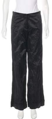 Robert Rodriguez Mid-Rise Wide-Leg Pants w/ Tags