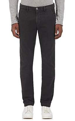 Barneys New York Men's Stretch-Cotton Flat-Front Trousers