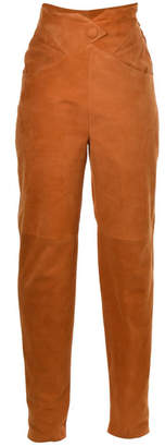Lilly Sarti Carrot Leather Pants