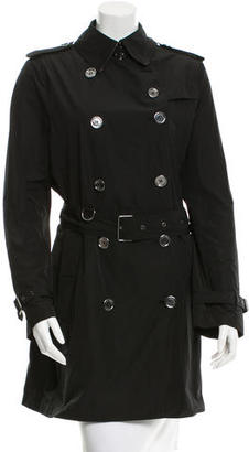 Burberry Brit double-breasted Long Sleeve Trench Coat w/ Tags $425 thestylecure.com