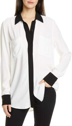 Equipment Austine Two-Pocket Button Front Shirt