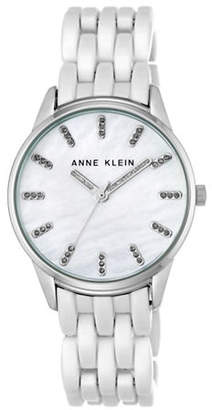 Anne Klein AK-2617WTSV Analog Bracelet Watch