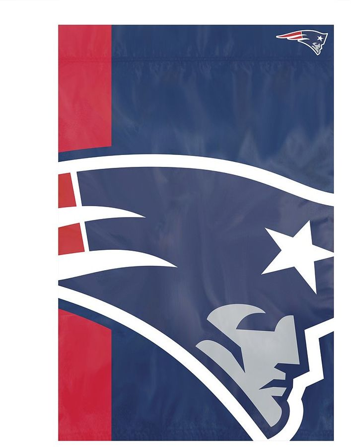 New England Patriots Bold Logo Banner Flag