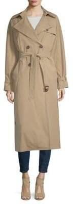 Max Mara Giunto Long Trench Coat