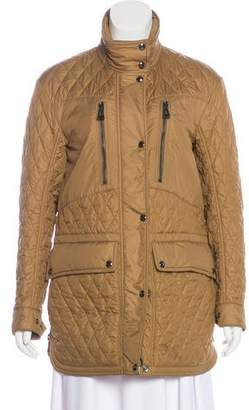Belstaff Quilted Short Coat