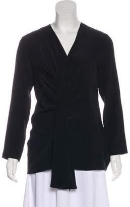 Mantu Silk Long Sleeve Blouse