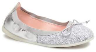 GIOSEPPO Kids's Serena Ballet Pumps in Silver