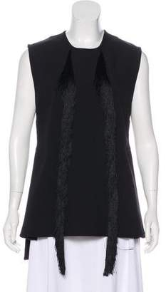 Ellery Fringe Sleeveless Top