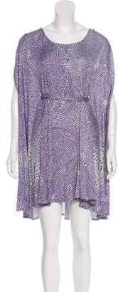 Issa Printed Mini Dress
