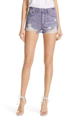 GRLFRND Cindy High Waist Denim Shorts