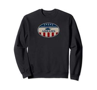 Abrams M1 & Us Tank Gifts M1 Sweatshirt