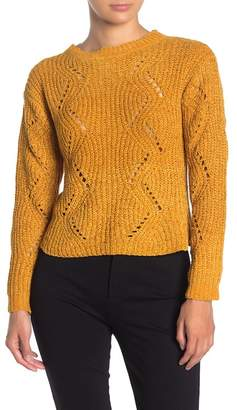 Love by Design Chenille Chunky Knit Pullover Sweater
