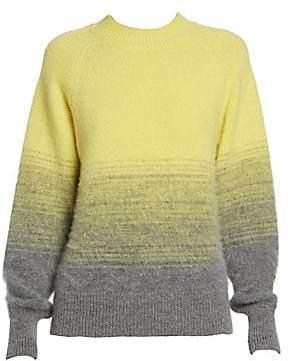Dries Van Noten Women's Alpaca & Wool-Blend Crewneck Knit Sweater