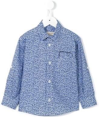 Cashmirino Floral print shirt