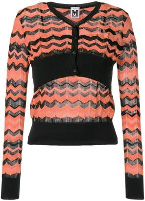 M Missoni layered cardigan top