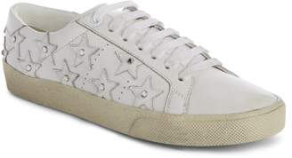 Saint Laurent Court Classic Embellished Star Sneaker