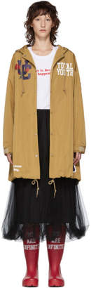 Undercover Beige Total Youth Hooded Rain Coat
