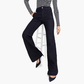 J.Crew Wide-leg trouser jean in classic rinse