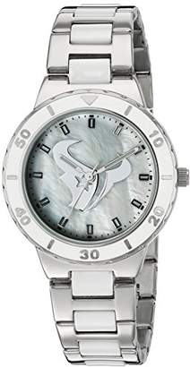 "Game Time Women's NFL-PEA-HOU ""Pearl"" Watch - Houston Texans"