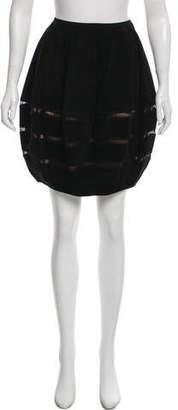 Alaia Suede Mini Skirt