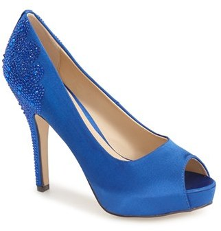 Women's Menbur 'Sanco' Peep Toe Pump $109.95 thestylecure.com