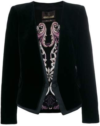Roberto Cavalli classic two button jacket