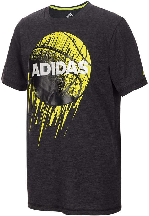 Basketball-Print T-Shirt, Toddler Boys