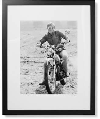 Framed Robert Redford 1975 Print, 17