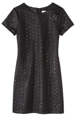 Xhilaration Juniors Textured Shift Dress - Assorted Colors