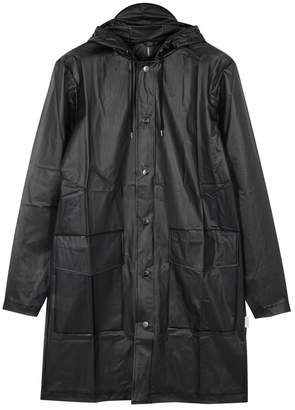79096efb305c9 Rains Black Transparent Rubberised Raincoat